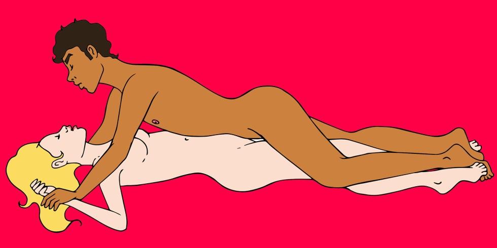 Поза в сексе покоренный
