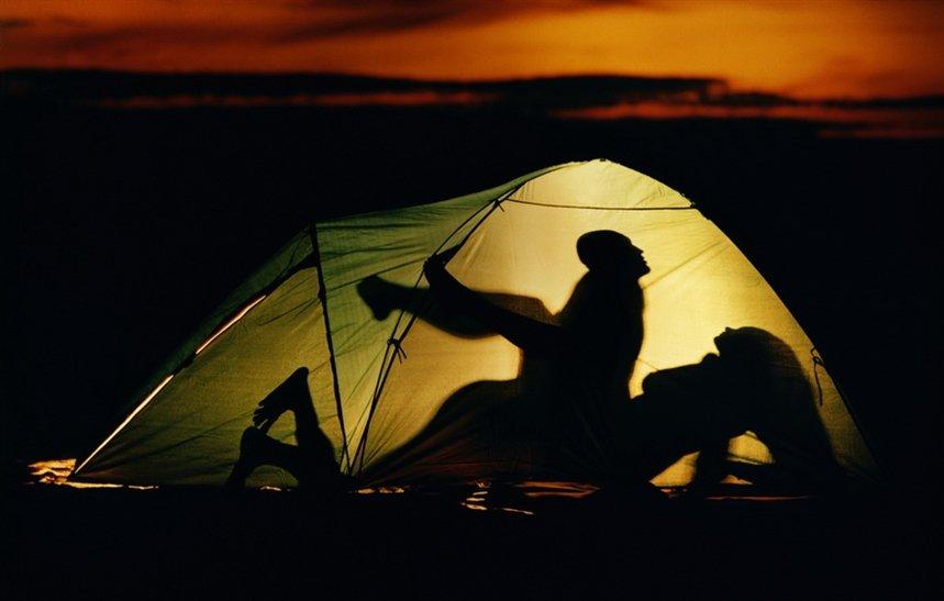 Секс поход палатка