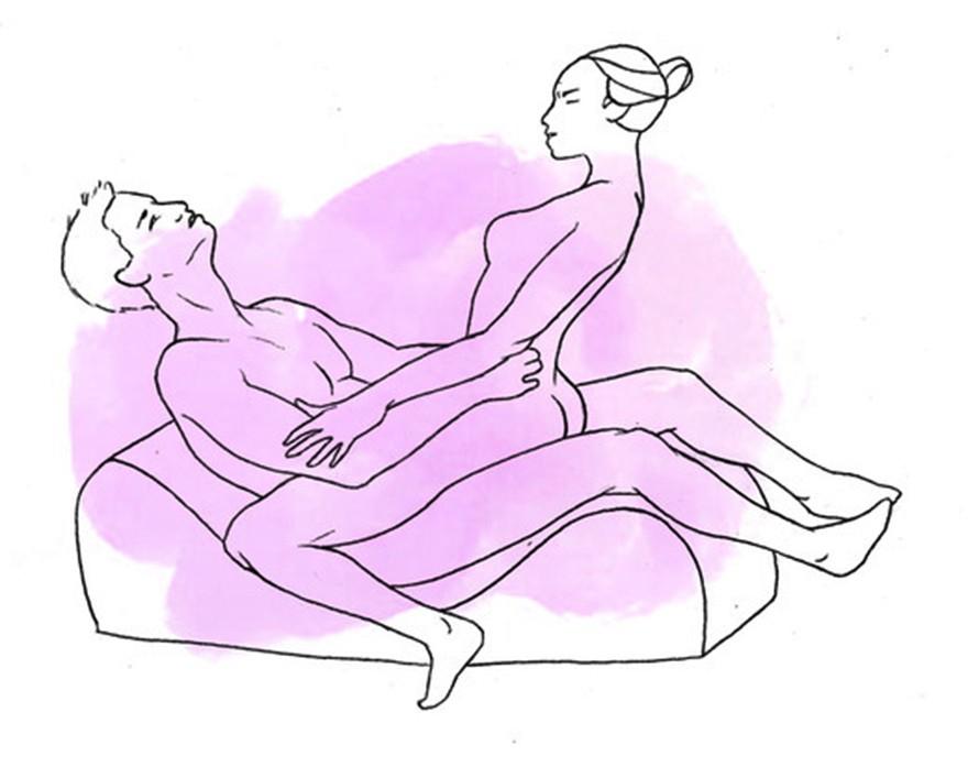 Наиболее плотные позы для секса