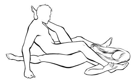 Поз в сексе друг напротив друга