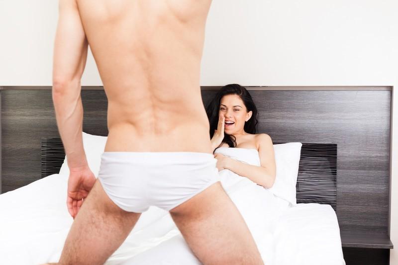первое знакомство с мужским достойнством