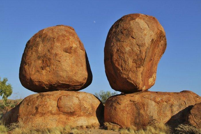 Дьявольские камни, Северная Австралия