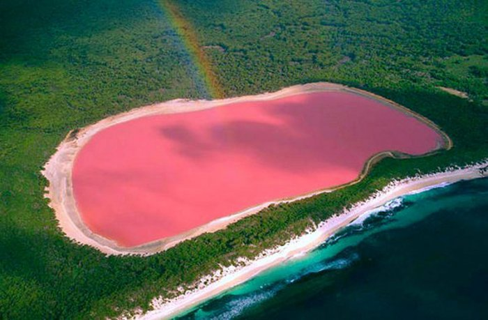 Озеро Хиллер, Западная Австралия