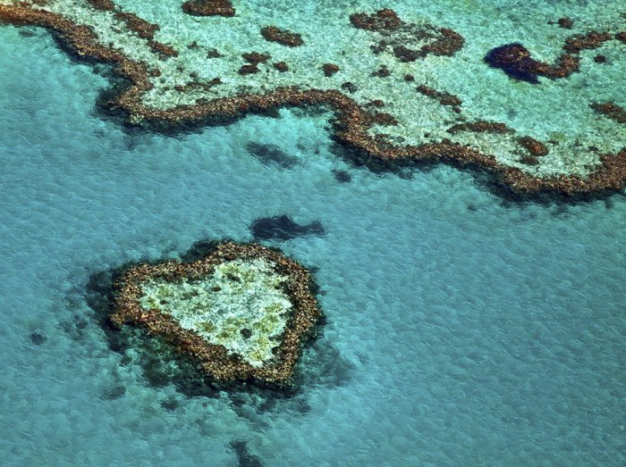 Риф в форме сердца, Квинсленд