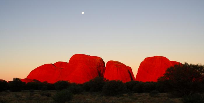 Ката Тьюта, Северная Австралия