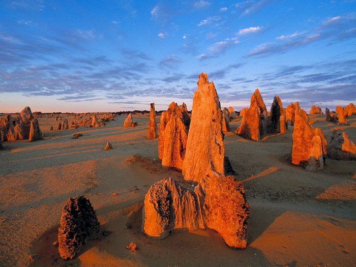 Пиннаклс, Западная Австралия