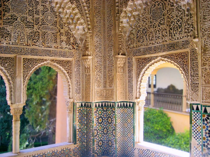 the palaces of the alhambra are among the most celebrated monuments in world architecture