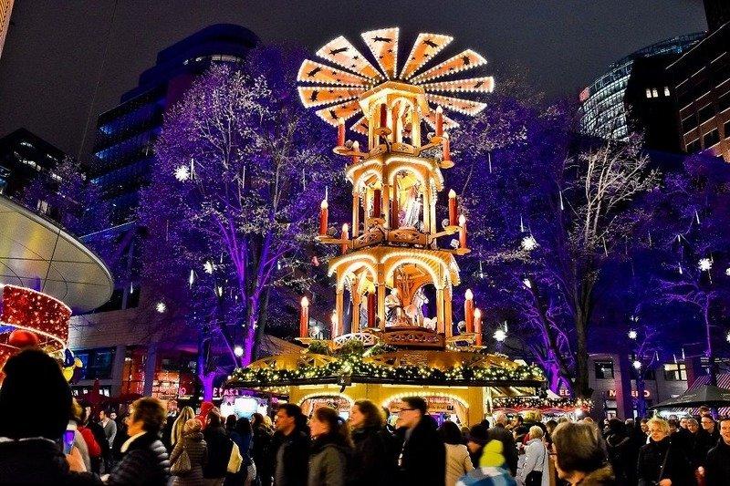 Рождественская ярмарка в Берлине 2017 год