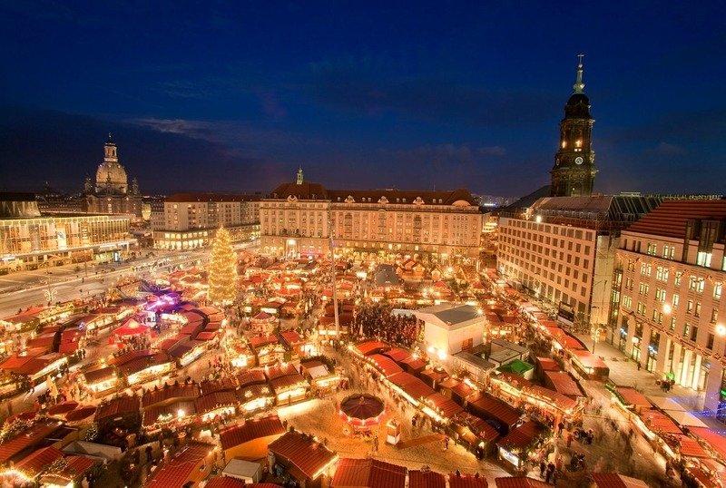 Рождественская ярмарка в Дрездене 2017 год