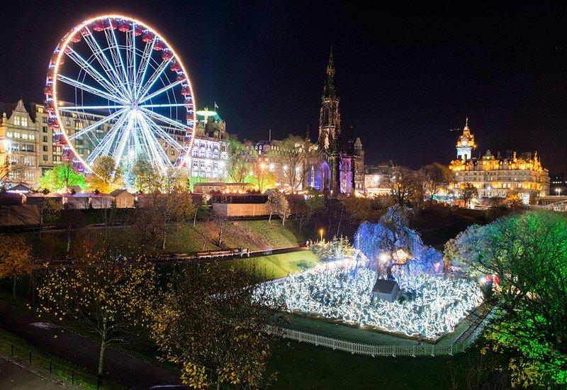 Рождество в Эдинбурге 2017 год