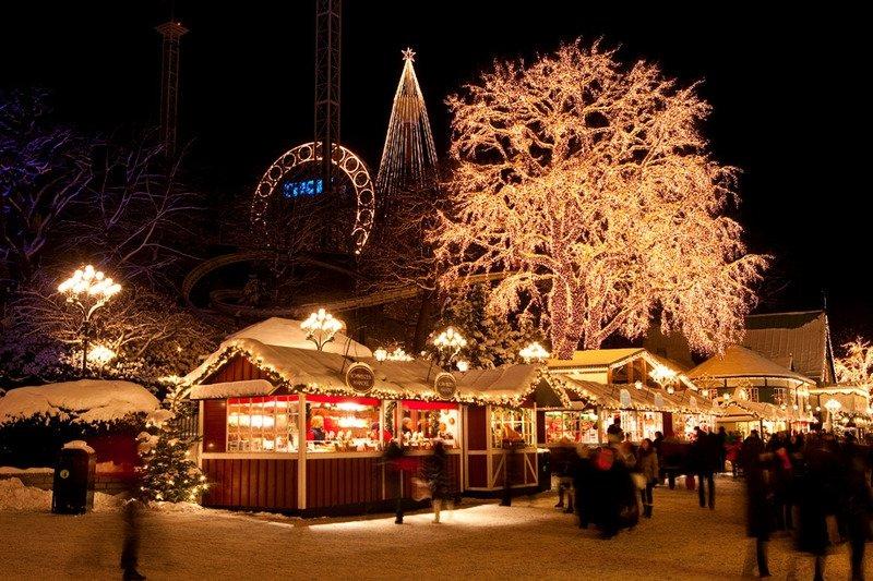 Рождественская ярмарка в Нюрнберге в 2017 году