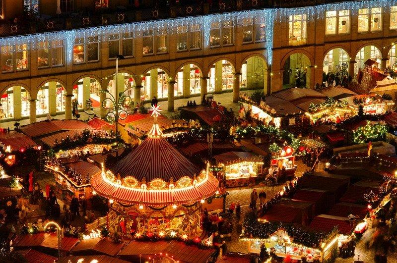 Рождественская ярмарка в Риме 2017 год
