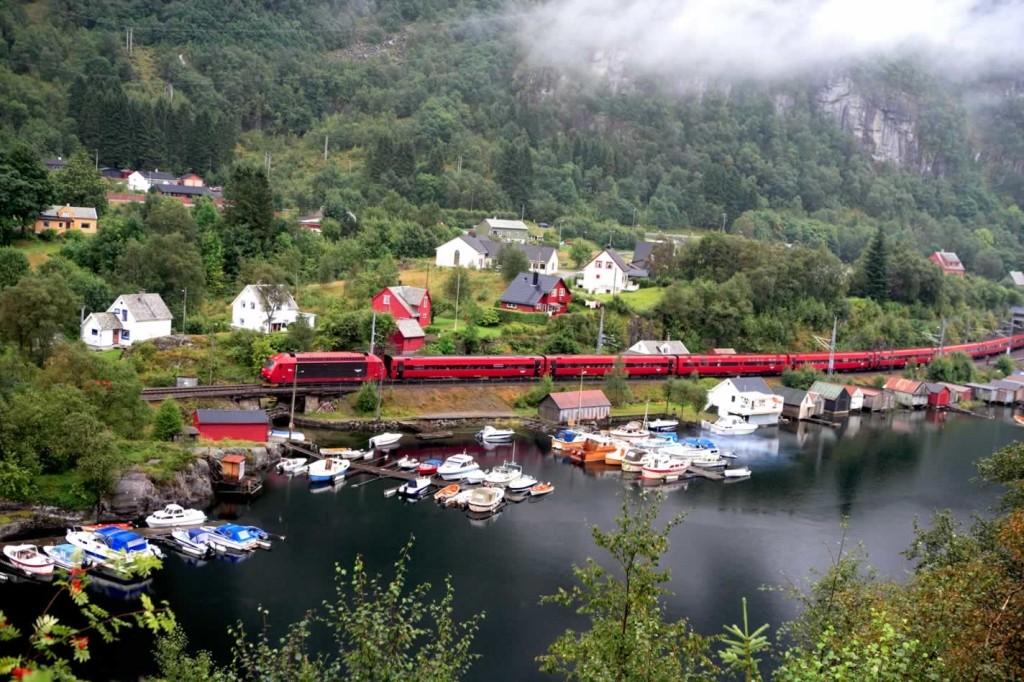 1. Бергенская железная дорога, Норвегия