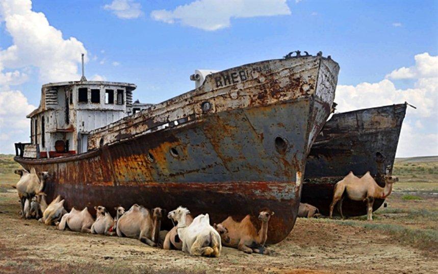 Высохшее море Арала