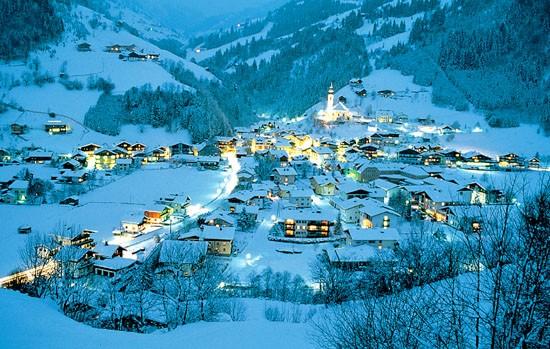 Австрия, Альпы, горы