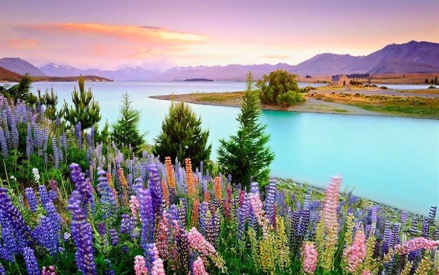 Красивейшие места Новой Зеландии