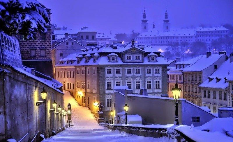 Поездка в прагу зимой