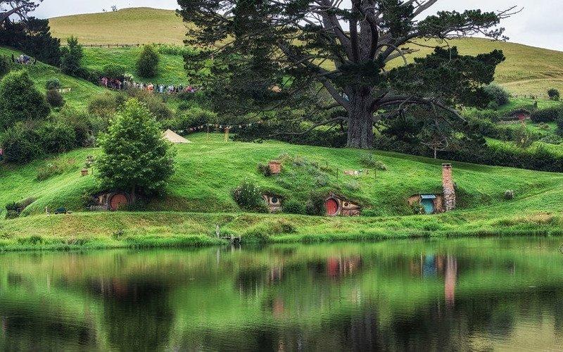 Новая Зеландия и съемки Властелина Колец