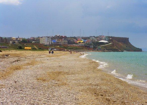 5. Пляж в Орловке (Севастополь)