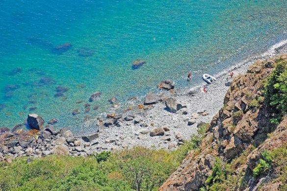 Пляжи Аю-Даг в Партените