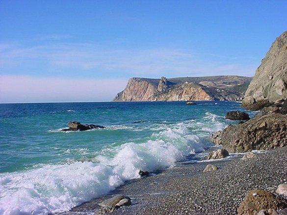 Серебряный и Золотой пляжи в Балаклаве