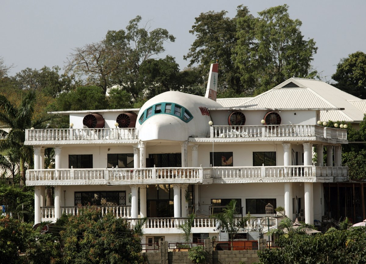 дом-самолет