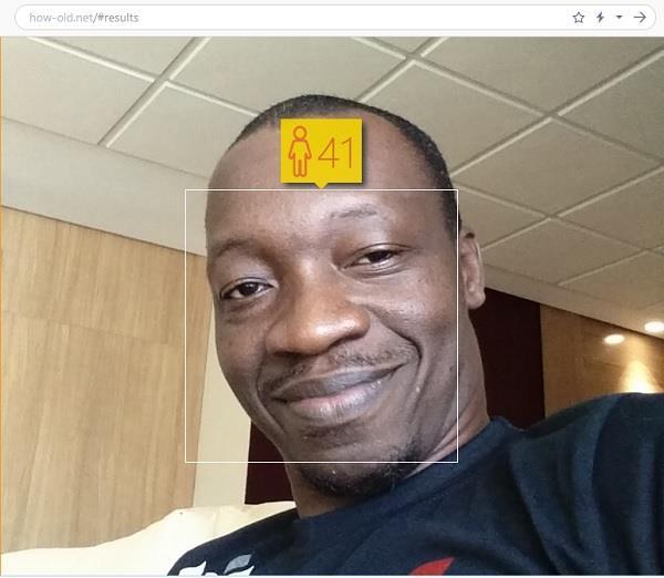 определил возраст и пол