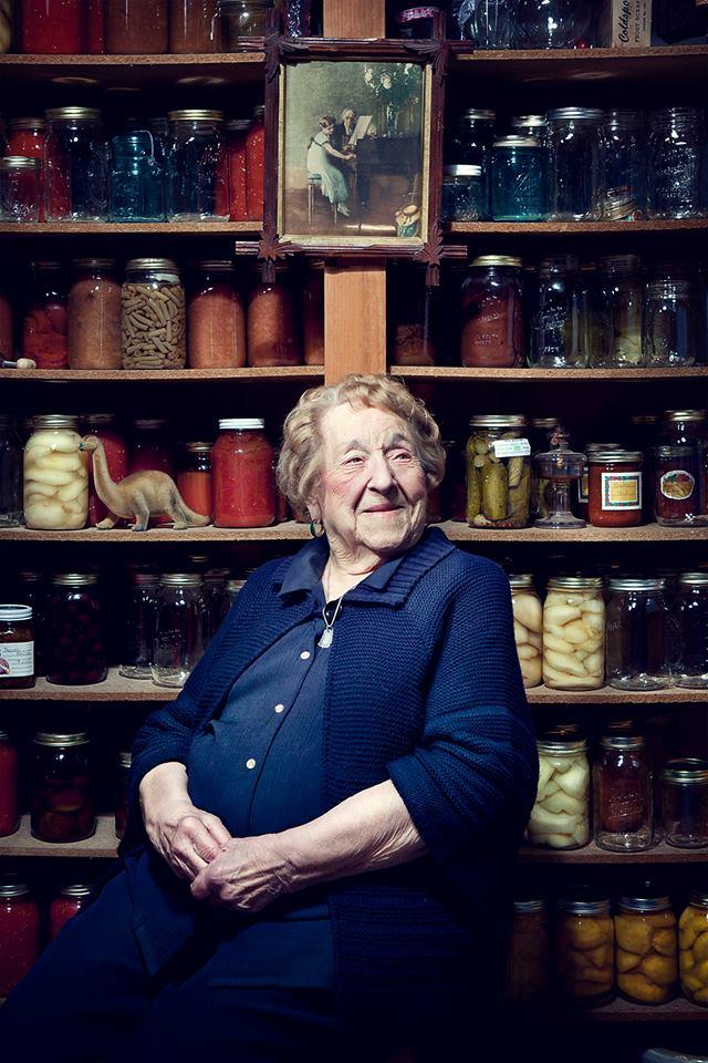 Секретом жизни делится 103-летняя женщина
