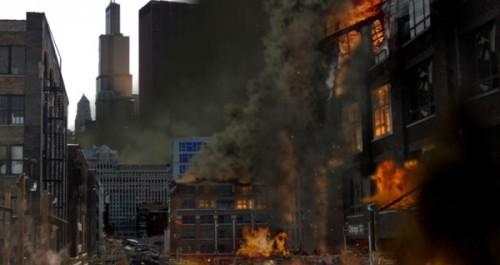 масштабные пожары