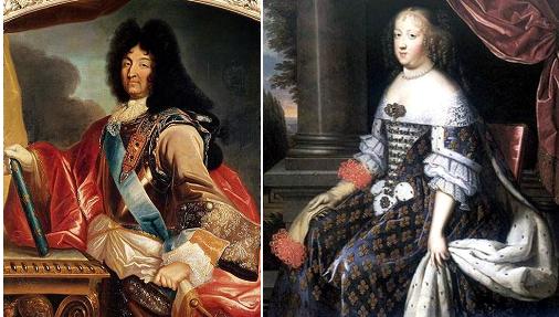 Людовик XIV и Мария-терезия