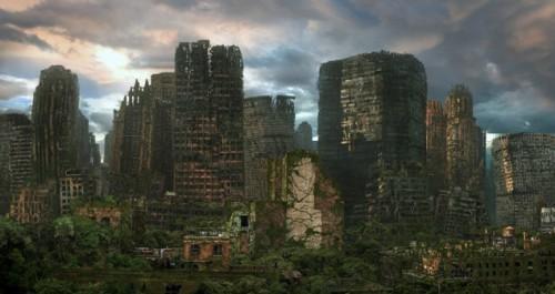 город после людей