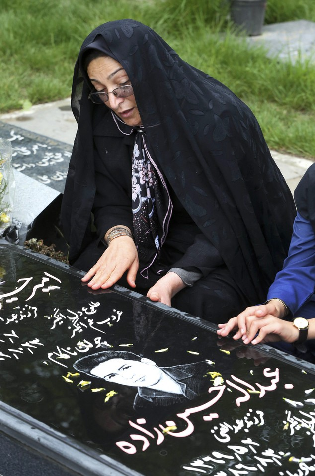 Мать Абдоллы Хоссейнзадеха
