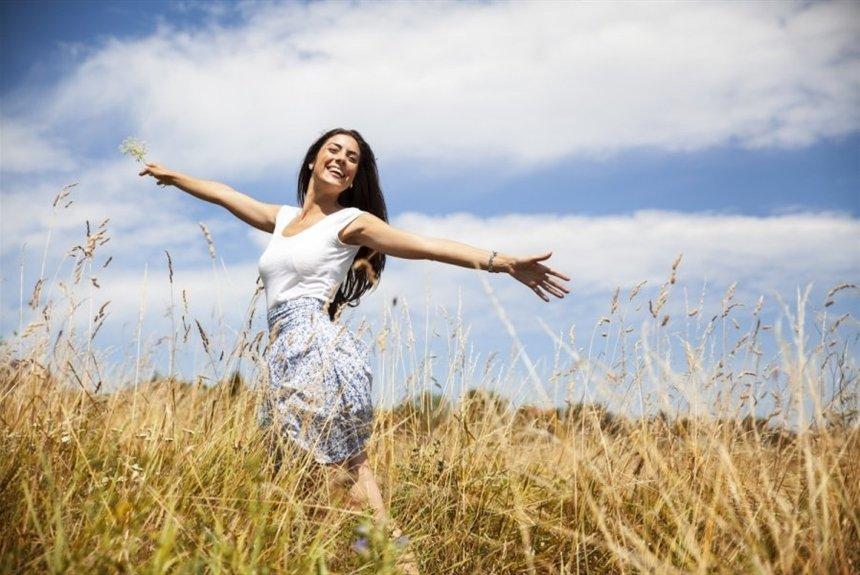 Близнецов, картинки радости жизни девушки