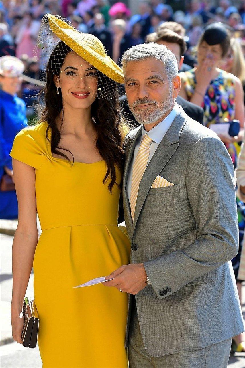 Джордж Клуни и Амаль Клуни: 17 лет