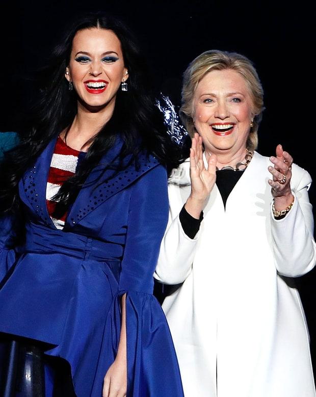 кэти перри и халлари клинтон
