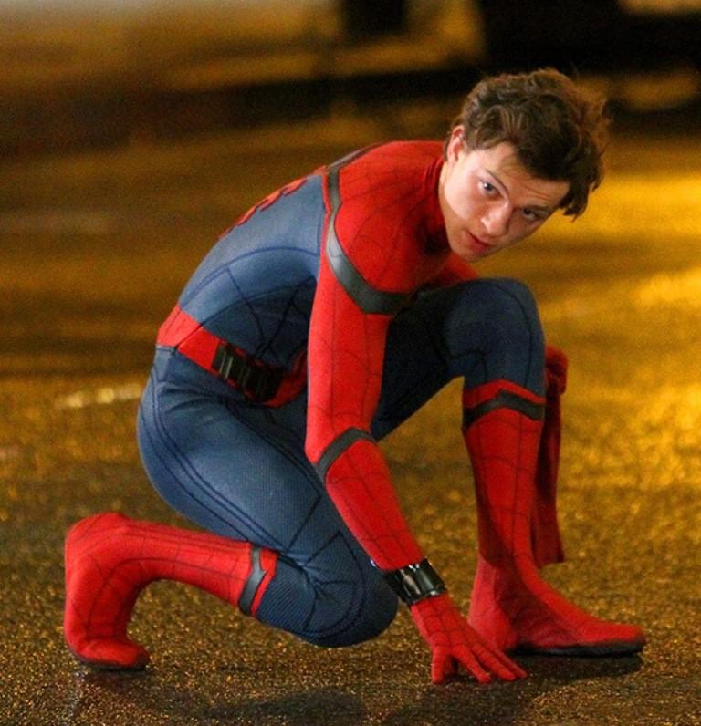 том холланд человек-паук трейлер